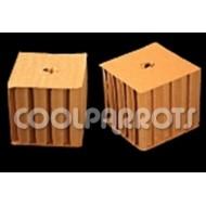 Cubo de cartón de forrajeo