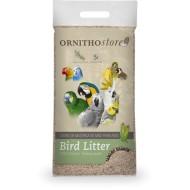 Fondo de jaula o nido de maíz especial aves
