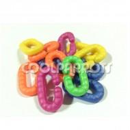 Eslabones de plástico grueso (6 unidades)