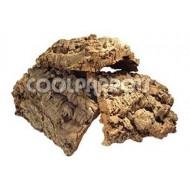 Pieza de tronco de madera