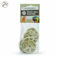 Pack de 8 ruedas de hoja de palma pequeñas