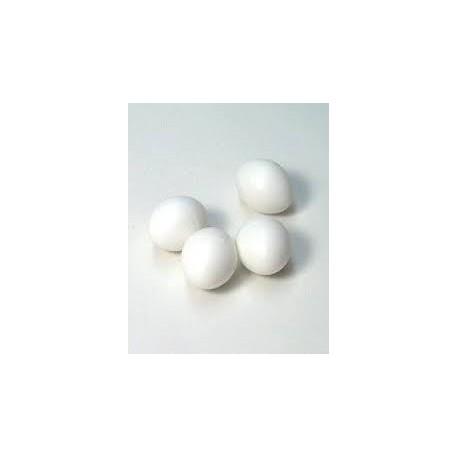 Huevos de plástico pequeños