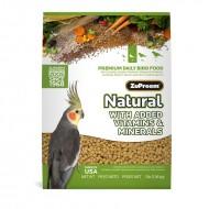 ZuPreem natural M para ninfas, cotorras y otros loros de pequeño