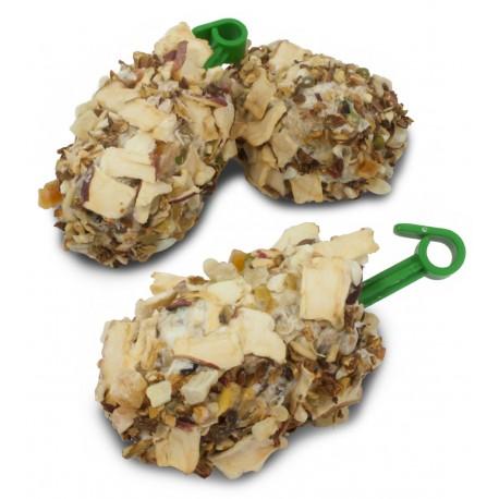 Rollitos de maíz con fruta (3 unidades)