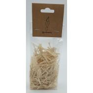 Natural shredding raffia strips