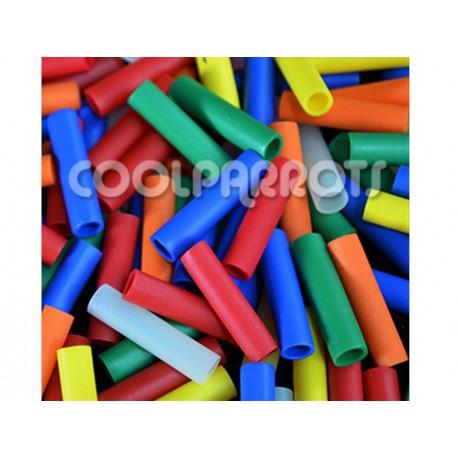 Pack 20 tubitos de plástico