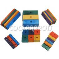Pack 30 piezas madera