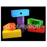 Grandes bloques de madera 2 unidades