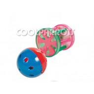 Rulo y pelota con cascabel