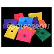 Pack 6 pletinas de madera medianas