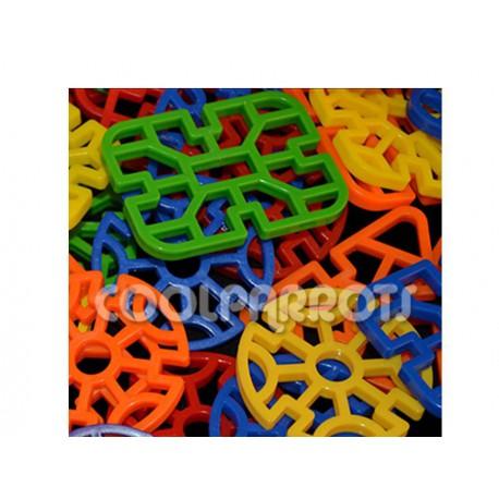 Celosías de resistente plástico (6 unidades)