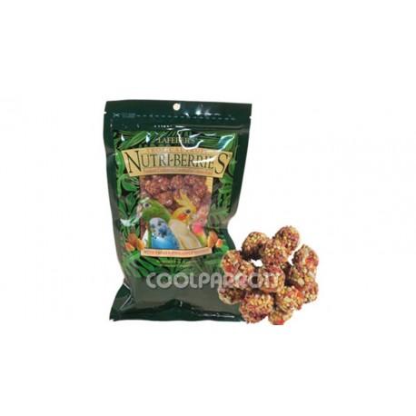 Lafeber Nutri-berries tropical para pequeñas aves 300 grs.