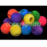 Pack 16 bolas de madera 3,5 cm diámetro