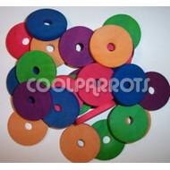 Pack 20 discos de madera 4,5 cm diámetro