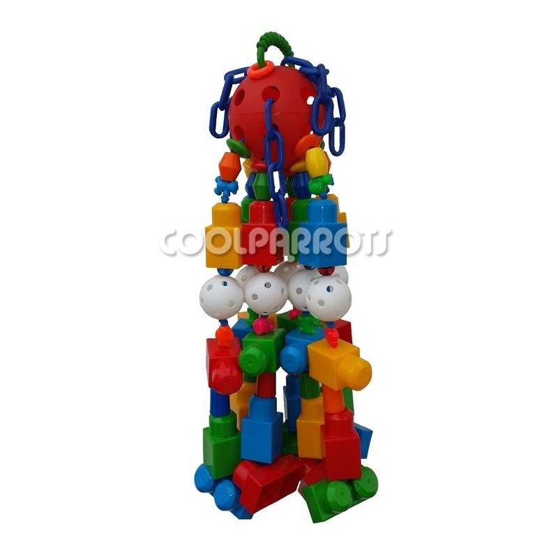 Lego gigante cool parrots - Piezas lego gigantes ...